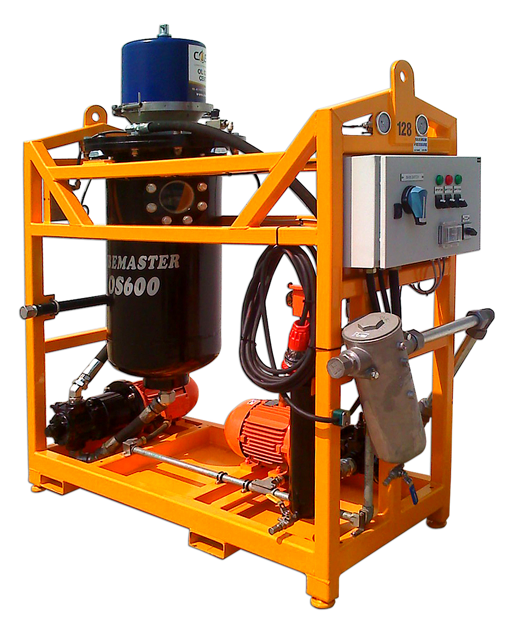 Lubemaster 600 Mill Model Oil Filtration Unit
