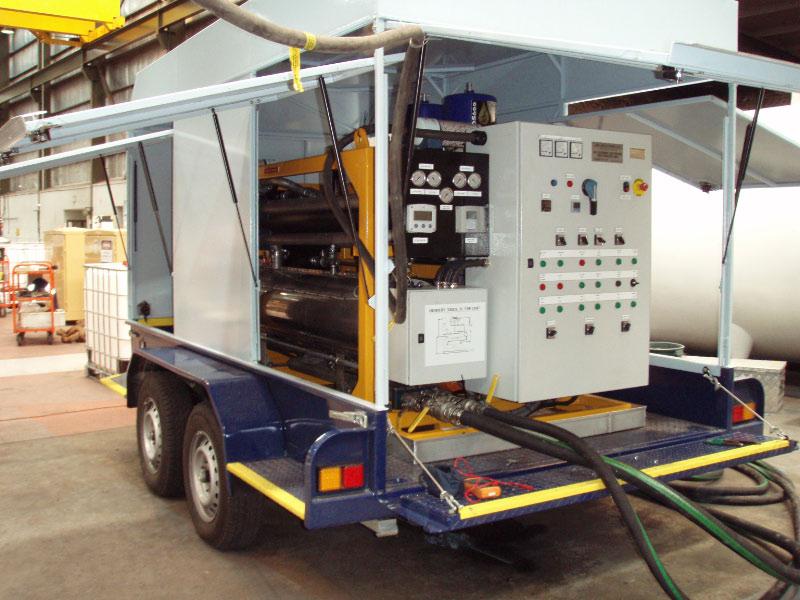 POWERMASTER 1200 Transformer Oil Filtration Unit
